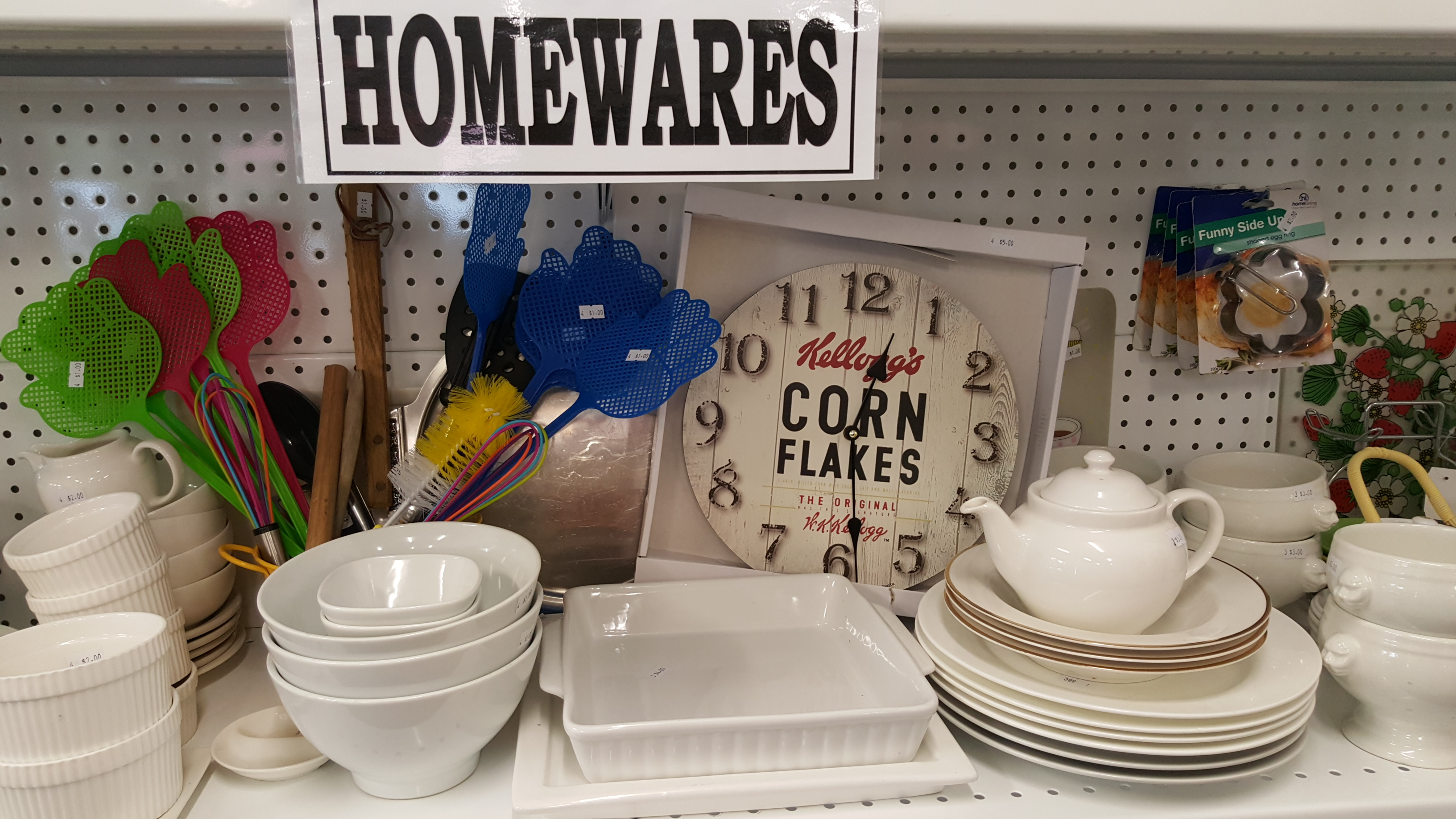 ....always a great variety of homewares to choose from!