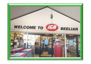 IGA Beelier green frame